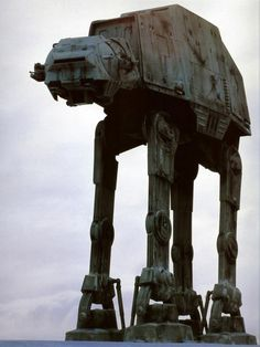 The At-At armored transport snow-walkers were first introduced to Star Wars fans in the flick The Empire Strikes Back. These Imperial war machines gave the rebels a run for their money as it was almost impossible to penetrate these giant's armor.