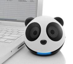 panda speakers!