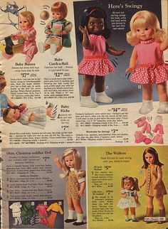 dolls 1969 Sears Christmas Catalog Page 0599 Z