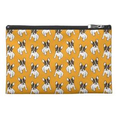 #Play With Me Frenchie Design Travel Accessory Bag - #french #bulldog #puppy #bulldogs #dog #dogs #pet #pets #frenchbulldog