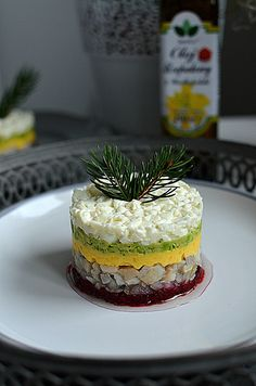 Cook & Look: Świąteczny tatar ze śledzia Appetizer Recipes, Salad Recipes, Appetizers, Hors D'oeuvres, Christmas Time, Tapas, Seafood, Cheesecake, Food And Drink