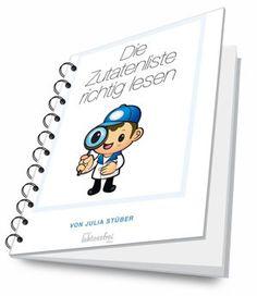 """Ganz neu: mein Mini-Ebook """"Zutatenlisten richtig lesen"""" für Laktose-Intolerante zum kostenlosen Download, besonders für Anfänger wichtig!"""