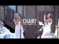 In This Video A Sassy Singing Sister Duo Bust Out Of The Shadow And Give The Toast Of A Lifetime To A Lucky Bride And Groom! You Have To Hear These Epic Remixes With Your Own Ears!