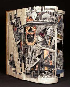 Brian Dettmer - altered books