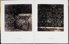 Cy Twombly: Photographs, 1951-2007   (I LOVE Cy Twombly)