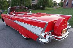1957 Chevy Bel Air..Re-pin brought to you by agents of #Carinsurance at #HouseofInsurance in Eugene, Oregon