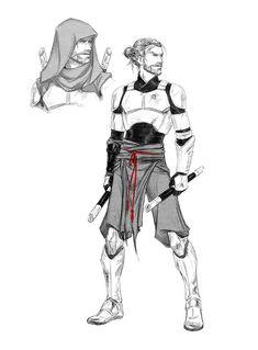 Obi-Wan: Deserter Concept by croaky on DeviantArt Star Wars Jedi, Rpg Star Wars, Star Wars Humor, Star Trek, Star Wars Fan Art, Star Wars Concept Art, Costume Star Wars, Jedi Costume, Jedi Cosplay