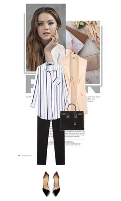 """""""683."""" by cinthyasss ❤ liked on Polyvore featuring WearAll, Vanessa Bruno, Yves Saint Laurent, Witchery, women's clothing, women's fashion, women, female, woman and misses"""