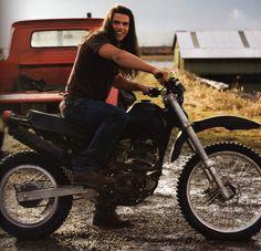 Twilight Jacob Black long hair motorcycle                                                                                                                                                      More