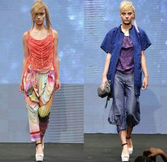 2OR+BYYAT Helsinki Finland 2015 Spring Summer Womens Runway Catwalk Looks - Copenhagen Fashion Week Denmark - Grunge Paint Smudges Moto Motorcycle Biker Rider Cutout Waist Houndstooth Sawtooth Shorts Asymmetrical One Off Shoulder Mesh Peek-A-Boo Bomber Jacket Multi Panel Shorts Dress Threads Fringes Weave Loose Threads Drapery Cinch Lace Train Tulle Pinafore Dress Stripes Flowers Florals Botanical Geometric Print Graphic Fold Out Lapel