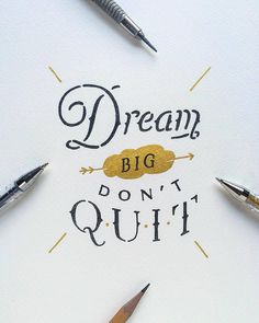 Do your goals scare you? If not you probaby need to dream bigger. Type by @see_mahimkar | #typegang if you would like to be featured | typegang.com | typegang.com #typegang #typography