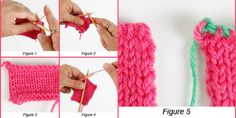 Learn the how-tos of stretchy bind-off knitting with this easy knitting tutorial on decrease, or lace, bind-off perfect for toe-up socks and more!
