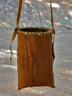 Folded Bark Baskets | Sustainable Living Project: