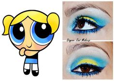 Bubbles-inspired eye makeup                                                                                                                                                                                 Más