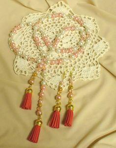 Bojtos szett * Tassels and beads Tassel Necklace, Tassels, Beads, Jewelry, Fashion, Jewerly, Beading, Moda, Jewlery