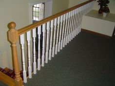 How to Evenly Space out Balusters along a Railing: Two Methods for How to Calculate Even Spacing Between Balusters - http://www.homeadditionplus.com/finish-carpentry-info/How_to_Evenly_Space_Balusters.htm