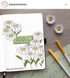 Are you looking for the best bullet journal ideas for April? Here are the latest and best bullet journal covers for April. Journal D'inspiration, April Bullet Journal, Bullet Journal Banner, Bullet Journal Writing, Bullet Journal Cover Page, Bullet Journal School, Bullet Journal Aesthetic, Bullet Journal Spread, Bullet Journal Layout