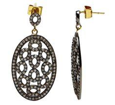 Raw cut diamonds - love Julie Wettergren's designs for a modern take on Victorian