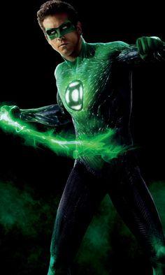 DC Comics - Actor Ryan Reynolds as The Green Lantern (Linterna Verde) Green Lantern Ryan Reynolds, Green Lantern 2011, Green Lantern Movie, Green Lantern Hal Jordan, Green Lantern Corps, Green Lanterns, Superman Hulk, Batman, My Superhero