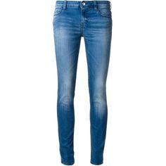 Iro Skinny Jeans (1 385 ZAR) ❤ liked on Polyvore