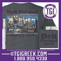 TGI Greek - Delta Tau Delta - Formal - Greek T-shirt #tgigreek #deltataudelta #delt