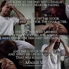 Maggie Siff talking about her character death