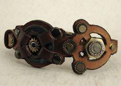 399 Viking Steampunk Industrial Boho Bracelet by ShabbyLuxury