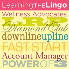 dōTERRA Lingo Defined (Part One) - be sure to click at the bottom of the article for part two