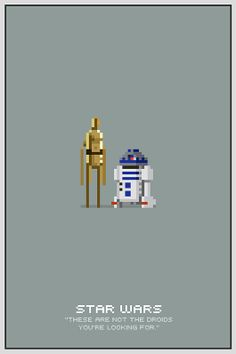 Star Wars Pixel Posters by Michael B. Myers Jr