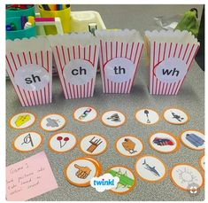 Word Work station consisting of CVC words, digraph, split-digraphs and blends activities which can be adapted to different age levels. Phonics Reading, Teaching Phonics, Kindergarten Literacy, Preschool Learning, Literacy Activities, Teaching Reading, Teaching Kids, Phonics Games Year 1, Word Work Activities