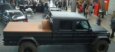 Wolf Factory baut G 500 Full Size Pick Up: Mercedes G-Klasse im Pick Up-Look