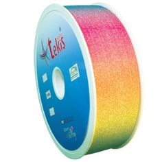 50mm Colorful Double Sided Printed Silvery Elastic