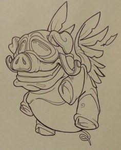 gallery for gt new school sketch cute jackalopes in 2019