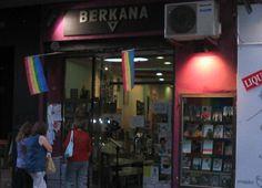 Berkana, la mítica librería LGBT de Madrid - http://www.actualidadliteratura.com/berkana-la-mitica-libreria-lgbt-de-madrid/