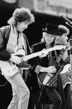 Bob Dylan, Tom Petty, Howie Epstein