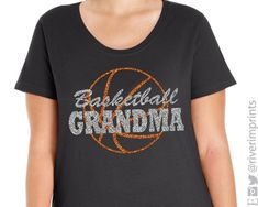 15409e68d8 Show your BASKETBALL GRANDMA pride in this 100% premium combed ringspun  cotton jersey plus size