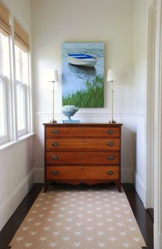 Bloggers' A-Ha Moments: Elizabeth Benedict from spacetograce.blogspot.com — designing this vignette in a beach house. #myaha #beach_house #vignette