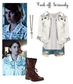 """Malia tate inspired outfit - teenwolf"" by shadyannon ❤ liked on Polyvore featuring rag & bone, Étoile Isabel Marant, Mossimo Supply Co., Steve Madden and Givenchy"