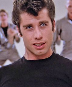 John Travolta aka Danny Zuko in 'Grease', He is a hottie! One of my favorite movies of all time. Grease 1978, Grease Movie, Grease 2, Danny From Grease, Grease Boys, Danny Zuko, Iconic Movies, Old Movies, John Travolta Young