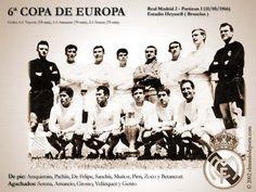Equipo de la 6° Copa de Europa