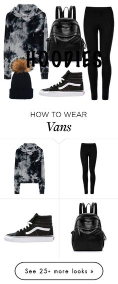 """Old school"" by tiwik on Polyvore featuring True Religion, Wolford, Vans, Winter, vans and Hoodies"