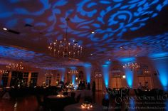 Fabulous lighting for a wedding reception in the Ballroom at Vestavia Country Club #vccweddings I AK Brides - Wedding Planning Services
