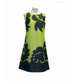 I sort of like this dress. Made by Marimekko (finnish design).