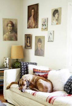 Portraits wall