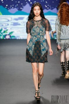 Anna Sui Spring-summer 2014 - Ready-to-Wear -