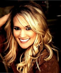 Carrie Underwood; one of my favorites