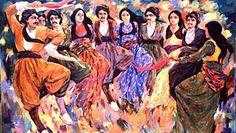 Art work painting of Mahdi Ziaadini Born in Sanandadj . He lives and works now in Sanandadj Jli Kurdi, Arabian Art, Turkish Army, Persian Culture, Kurdistan, Paper Models, Figure Painting, San Diego, Culture
