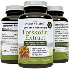 Pure Forskolin Extract - Indian Coleus Forskolin Plant Therapy for Natural Weight Loss - Burn Fat - Boost Metabolism - no.1 Antioxidant - Look Leaner and Boost Confidence for Women and Men by Nature Bound *** Review more details @ : Garcinia cambogia
