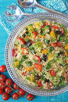 Roasted Ratatouille Quinoa - for this fabulous veggie laden dish makes ...