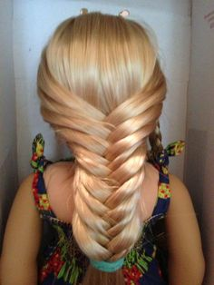Strange Waterfall Twist American Girl Hairstyles And Waterfalls On Pinterest Hairstyle Inspiration Daily Dogsangcom